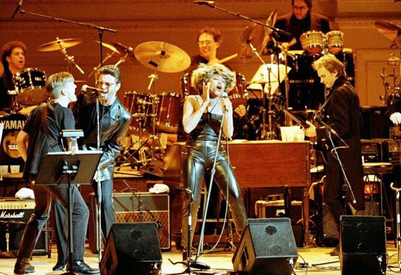 Bryan Adams, George and Tina Turner