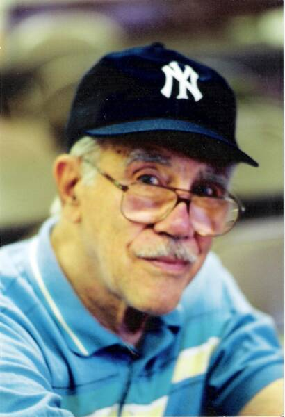 Grandpa was a Yankee's fan until the end, literally...