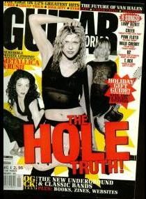 Courtney Love...when she was still a respectable ROCK STAR!