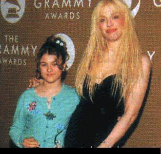 Frances Bean & Courtney Love at the Grammy Awards in 2004