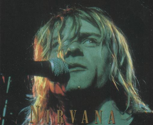 "The cover of ""Nirvana: Full Illustrated Book & Interview Disk"""