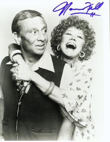 "Norman and Audra as the Ropers from ""Three's Company"""