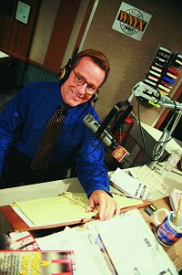 Phil as on-air talent Bill McNeal